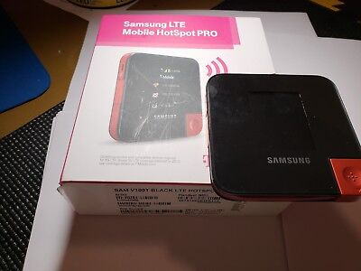 samsung lte mobile hotspot pro t mobile with box manual charger