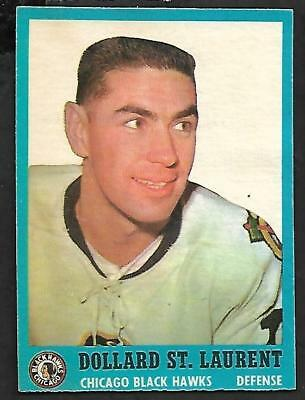 1962-63 Topps Nhl Hockey #30 Dollard St. Laurent Lc, Chicago Black Hawks