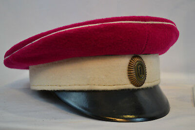 Pre Wwi Imperial Russian Cavalry  Officer Visor Cap Quality Reproduction