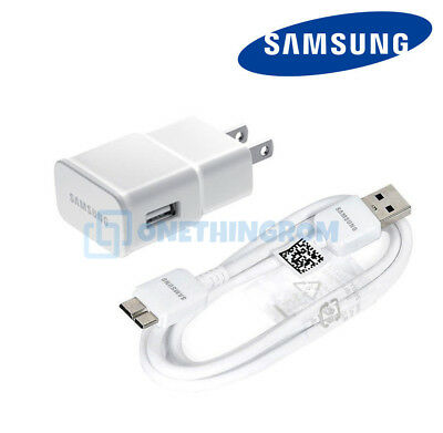 New Original Samsung OEM USB Wall Charger Data Sync Cable for Galaxy S5 & Note 3