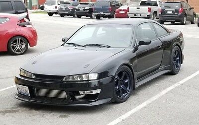 1995 Nissan 240SX  1995 NISSAN 240SX KOUKI LSX TURBO T56 6-SPEED VERTEX RIDGE BLACK