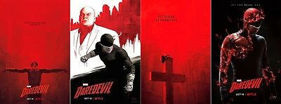 "Daredevil Poster Season 3 TV Series Charlie Cox 13x20"" 24x36"" 27x40"" Art Print"