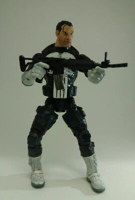 Marvel Legends Series 4 Punisher Loose Figure Series Four Avengers Daredevil