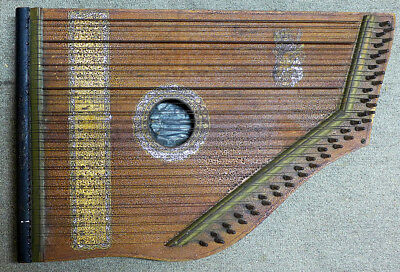 Antique Circa:1894 45 String Zither (Citera)Suit Collector. Kallangur Pickup