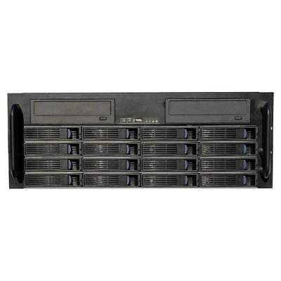 NORCO RPC-4116 No Power Supply 4U Rackmount Server Chassis (Black)