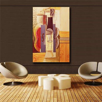 "Pablo Picasso""Piano abstraction"" HD print on canvas huge wall picture (31x47)"