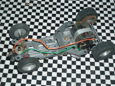 Vintage 1960s 1:24 Slot Car Tamiya Chassis Complete Scalextric Cox Monogram