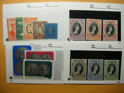 6900 Br. Commonwealth Lot of 4 Mint Stamp Packs