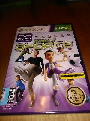 Xbox 360 kinect sports games