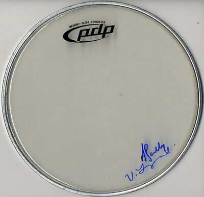 MIKE FUENTES SIGNED Autographed Pierce The Veil Drumhead