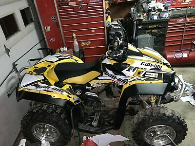 Brp Can Am >> Graphics Brp Can Am Renegade Decals Kit 2006 2018 793 90 00