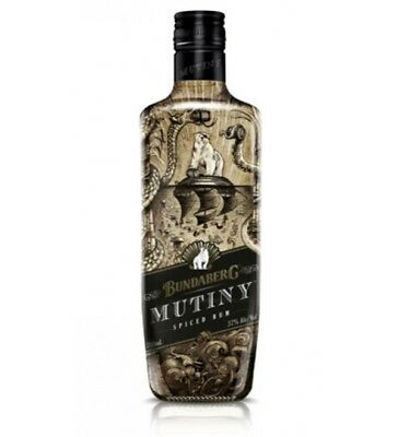 Bundaberg Rum Mutiny 700mL Old Label Rare
