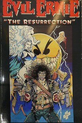 Evil Ernie - The Resurrection - Chaos Comics - Brian Pulido - Mike Flippin