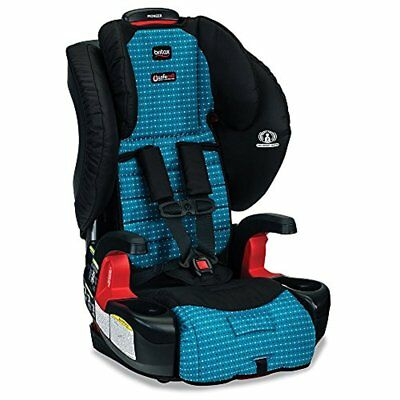 Britax Pioneer G1.1 Harness Booster Car Seat side impact SafeCell Oasis aqua