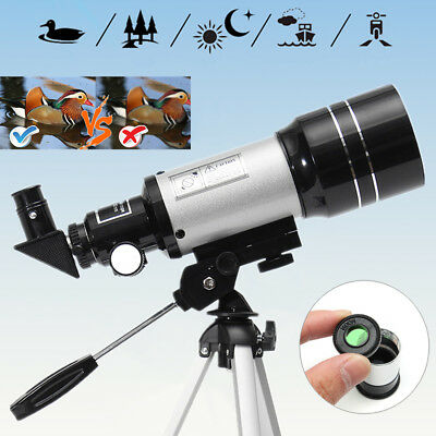 Astronomical Telescope 150x Aperture Zoom HD Monocular Night Vision 300x70mm AU