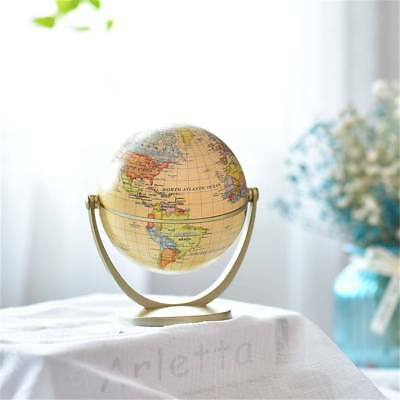 360° Rotating Globes Earth Ocean Globe World Geography Map Desktop Decor Gift
