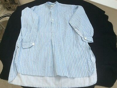 Small blue hand made Child's antique/vintage  nightshirt