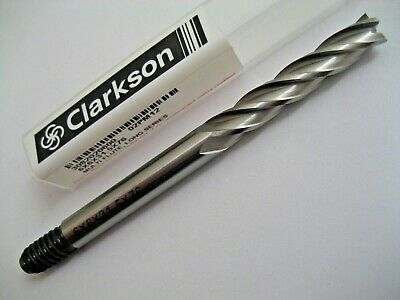 6mm HSSCo8 4 FLUTED COBALT L/S END MILL EUROPA TOOL / CLARKSON 3082020600  #P315