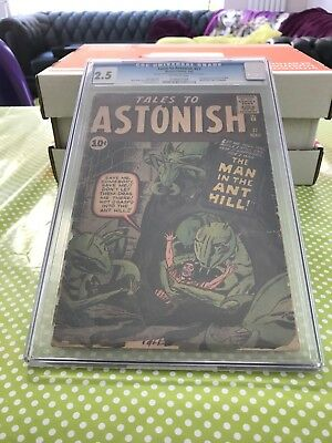 Tales to Astonish #27 (CGC 2.5) - 1st appearance of Ant-Man