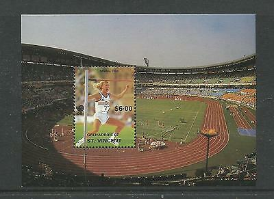 1988 Running Seoul Olympics  Mini Sheet  Complete MUH/MNH as Issued