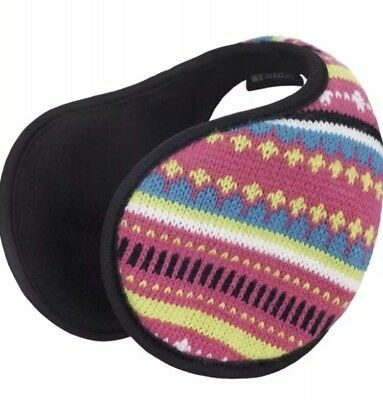 Girls Colourful Winter Earmuffs. Tresspass . New With Tags