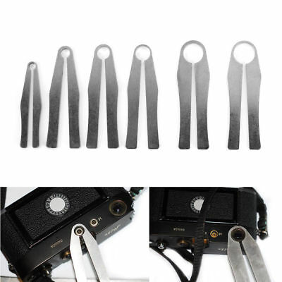 6x CTL-6 Camcorder Lens Repair Wrench Clamp Set Tool For Leica M2 M3 M4 M5 M6 M7