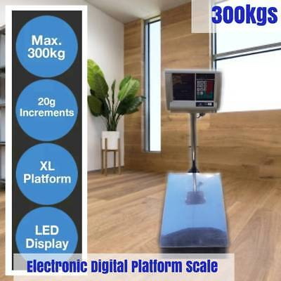 300kg Digital Electronic Scale Computing Pric Platform Scales Shop Postal Weight