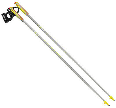 Leki Flash Carbon Nordic Walking Stöcke - 110cm (1 Paar) Auslaufangebot 6402530