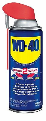 WD-40 Multi-Use Product - Multi-Purpose Lubricant with Smart Straw Spray. 11 oz.