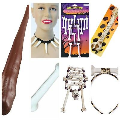 Caveman Cave Kids Boys Girls Cave Woman Fancy Dress Stone Age Bone Accessories