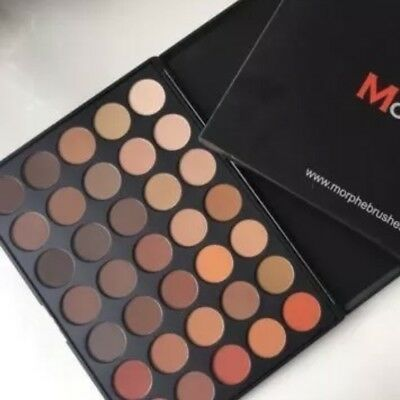 Morphe 3502 Second Nature Eyeshadow Palette New Release In Box