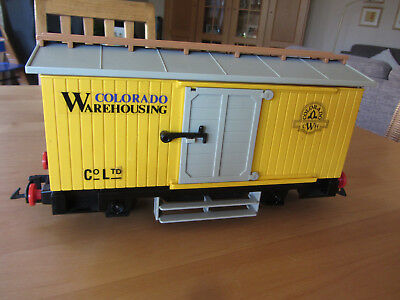 Playmobil Colorado Warehouseing 4122 Western Gepäckwagen Waggon