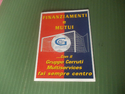 Calendarietto Serie B 2006/07 Genoa