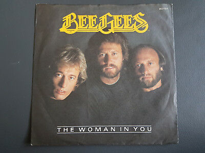 Single:  THE BEE GEES - the woman in you    Germany 1983