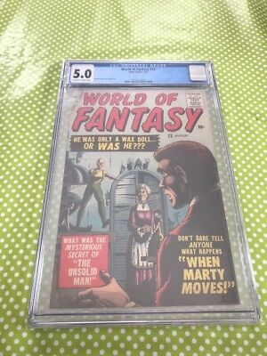 World of Fantasy #13 - CGC 5.0 (Atlas / Marvel Comics)