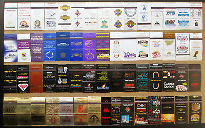 277 diff U.S.CASINOS (NO NV, CA, NJ) UNSTRUCK MATCHCOVERS