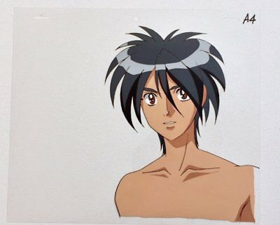 ESCAFLOWNE TV Original cel of Van Fanel Nobuteru Yuki