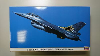 1:48 Hasegawa 09545 F-16A Fighting Falcon Tiger Meet 2003