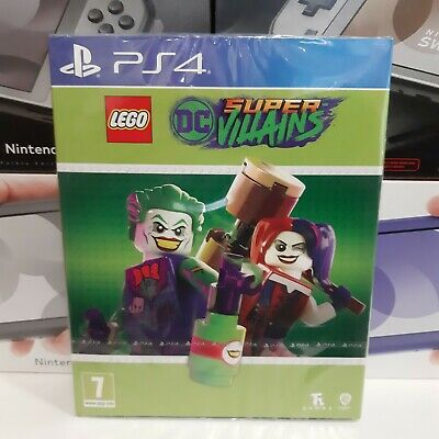 Lego DC Super Villains PS4 NUOVO SIGILLATO ITA
