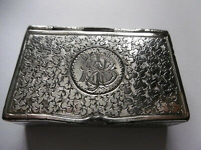 Antique Silver Colour Snuff Box