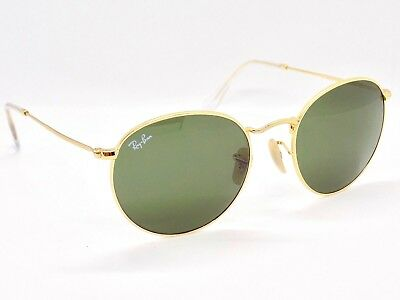 Ray Ban Round Metal Sunglasses RB3447 001 50mm & Case