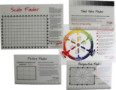 Scale and Colour Finder Selection - Set of 5 Finders