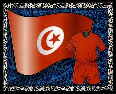 Merlin England (World Cup) 2006 - National Flag - Kit Tunisia No. 443