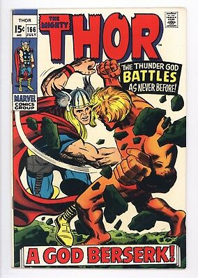 Thor #166 Vol 1 Near Perfect High Grade 2nd Full Appearance of Him Adam Warlock