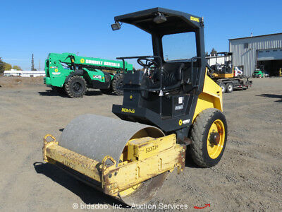 "2007 Bomag BW124DH-3 48"" Vibratory Smooth Drum Ride-On Roller Compactor bidadoo"