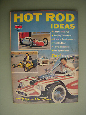 1961 Hot Rod Ideas by Borgeson and Thoms Fawcett How-to-Book #485
