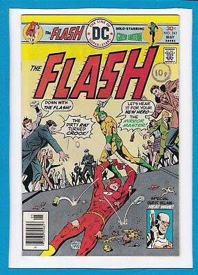 The Flash #241_May 1976_Very Fine+_Green Lantern_Mirror Master_Bronze Age Dc!