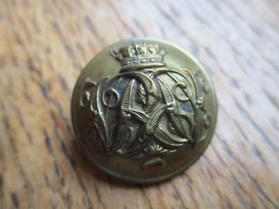 19th Century British Army Uniform Button Military
