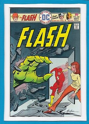 The Flash #236_September 1975_Very Fine+_Golden Age Flash_Dr. Fate_Bronze Age!