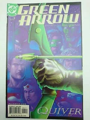 GREEN ARROW #4, 2001, VF- 7.5, JLA, by Kevin Smith, Phil Hester & Ande Parks